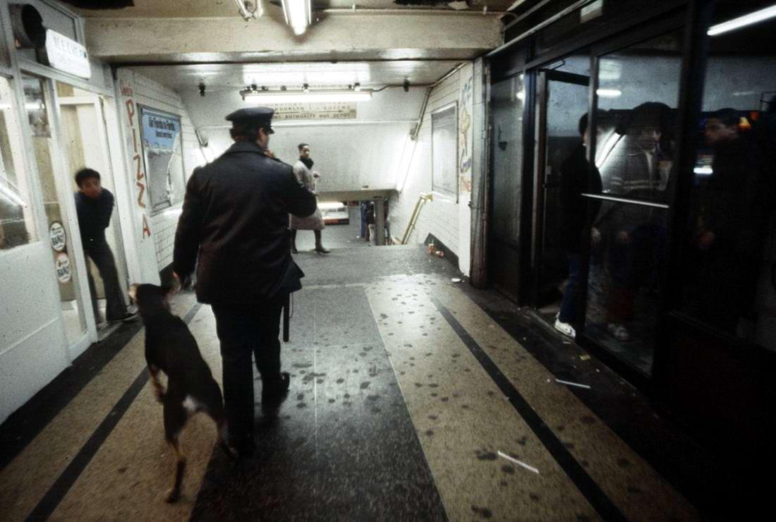Американский фотограф Christopher Morris: Граффити и андеграунд нью-йоркского метро (32)