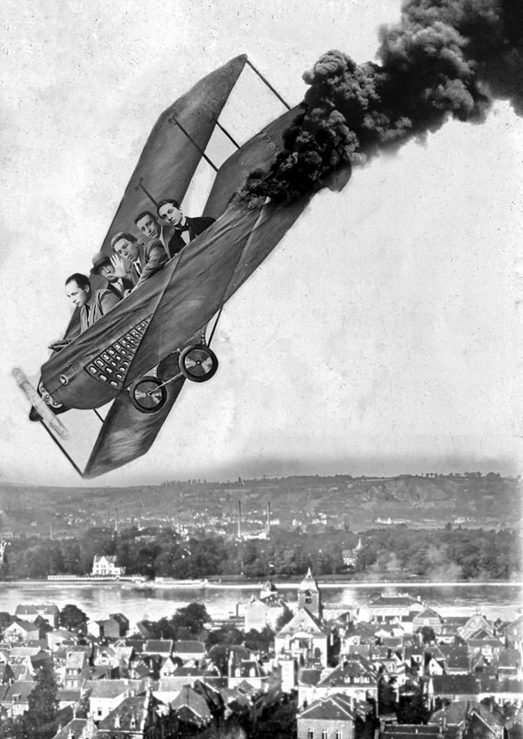 Художественные фоны для фотографий авиационной и воздухоплавательной тематики (36)