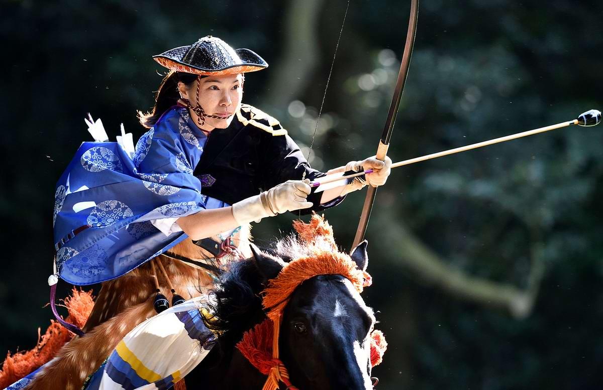 Стреляем из лука на полном скаку: Потомки японских самураев (21)