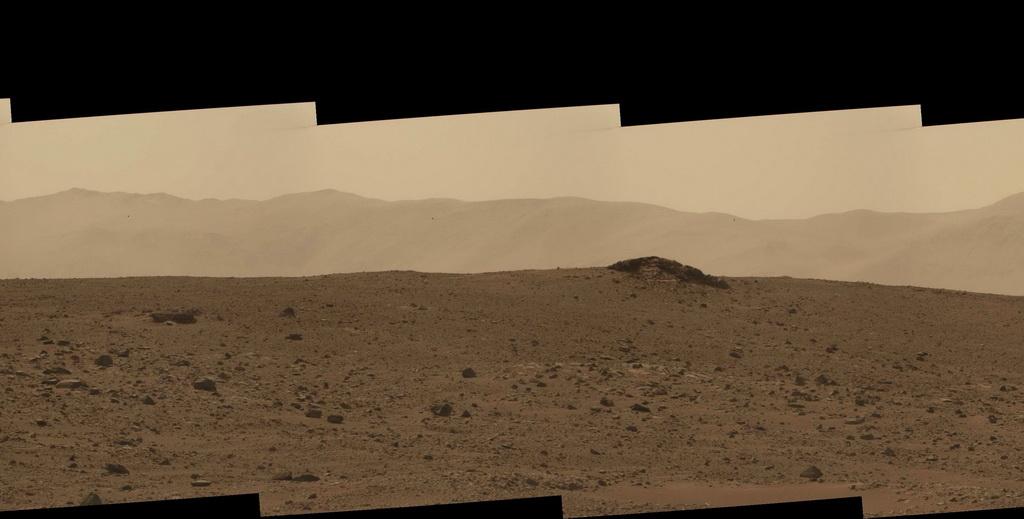 Панорамы от марсохода Curiosity