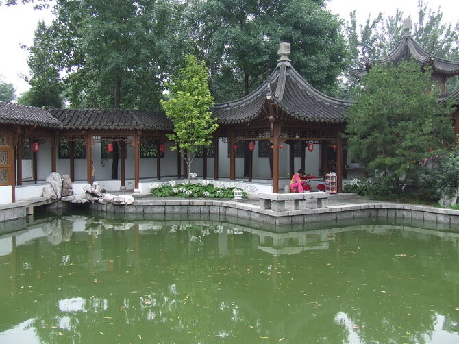 Парк Мира (Beijing World Park). Пекин, Китай