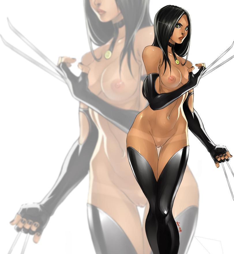 Рисованные голые эро супер героини девушки из эро комиксов фото 417-558