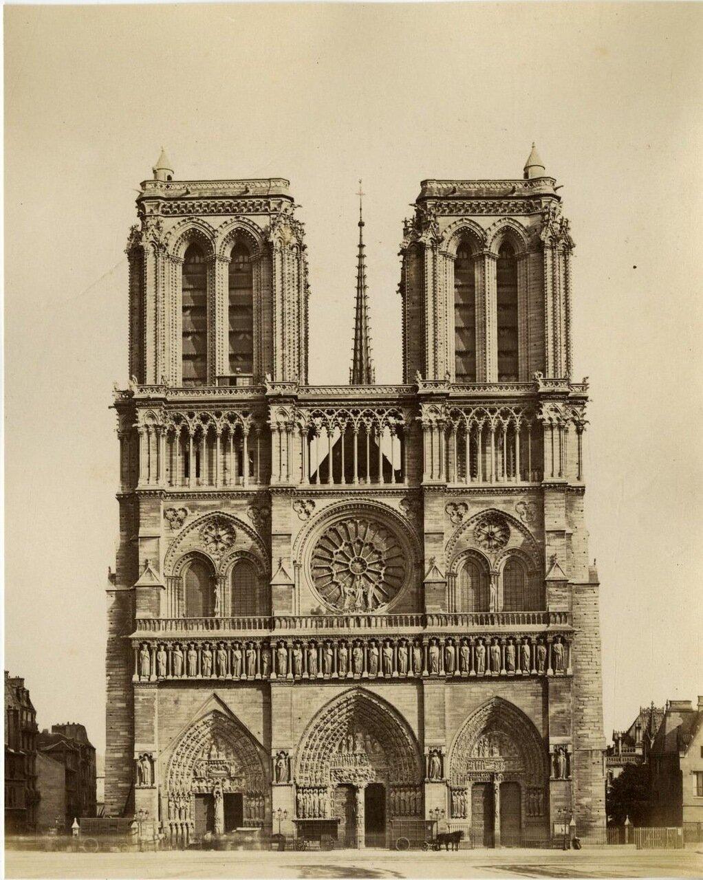 Нотр-Дам де Пари.1880-е