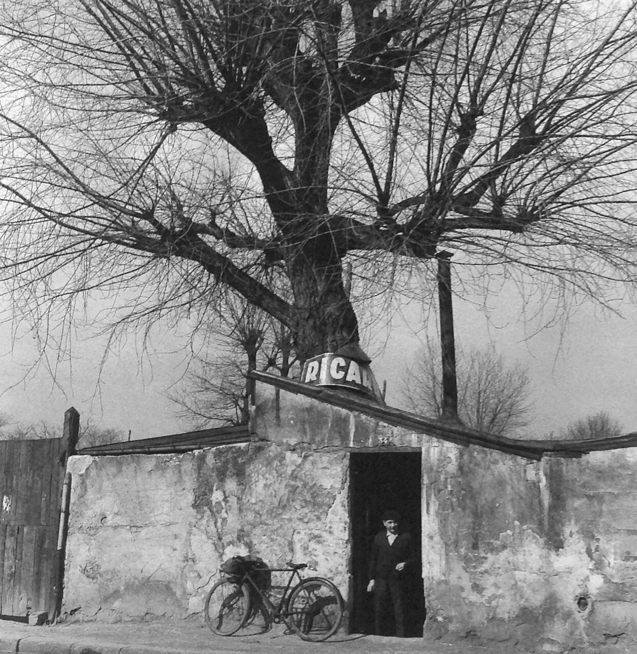 1957. Кафе г-на Дюбрейль. (Баньоле, Иль-де-Франс, 1957)