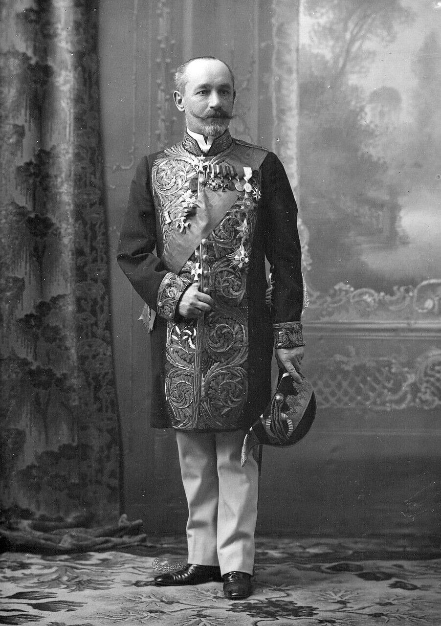 28. Сенатор, гофмейстер высочайшего двора, член Государственного совета Алексей Петрович Рогович. 1913