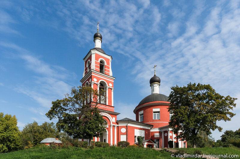 Церковь Петра и Павла в Петровском - Лыткарино