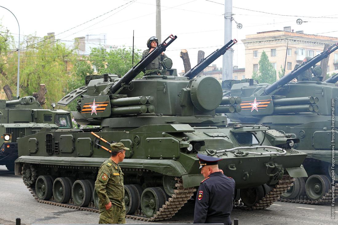 Зенитный пушечно-ракетный комплекс Тунгуска