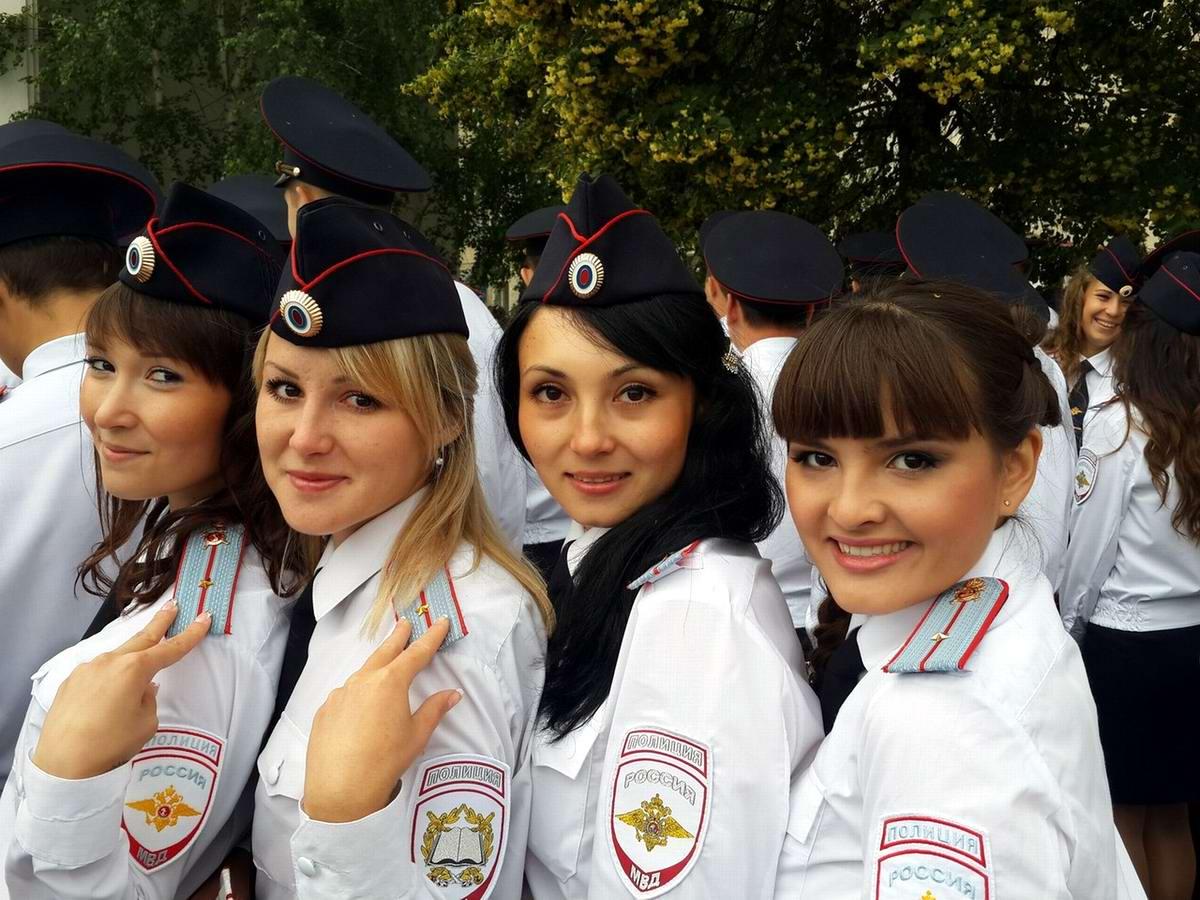 женщины в полиции россии фото