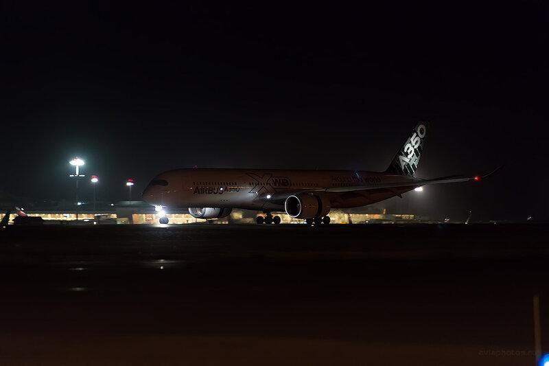 Airbus A350-941 (F-WWYB) Airbus D806968