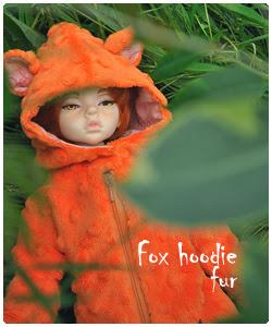Fox hoodie fur
