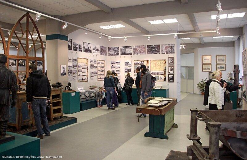 Достопримечательности Коломны: Музей тепловозостроительного завода