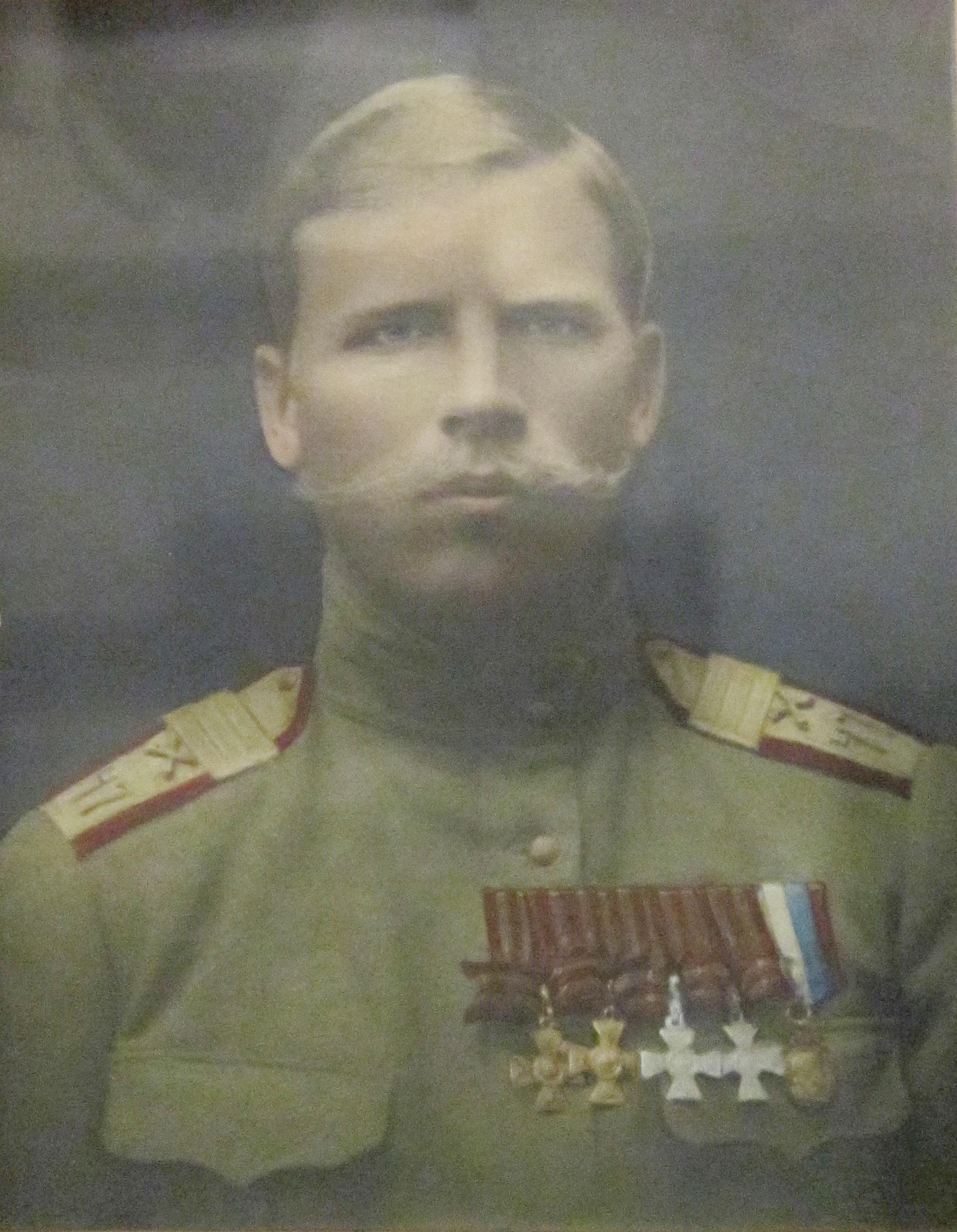 К. Н. Степанов, участник Первой мировой войны.