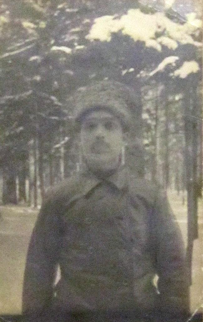Участник Первой мировой войны И. И. Малаховский.