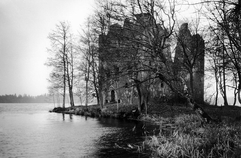 Kronoberg, Växjö, Bergunda, Småland, Fornminnen-Bebyggelselämningar-Slott/herresäte