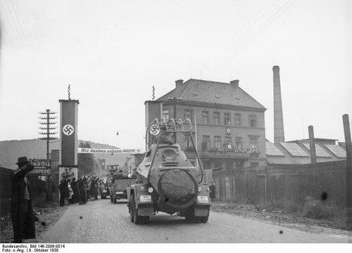 Anschluss sudetendeutscher Gebiete, Aussig
