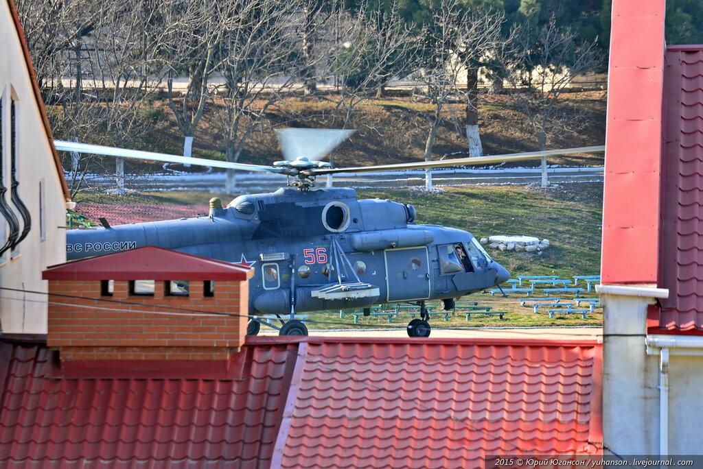 Севастополь сегодня: за окном -  вертолёты и гроза