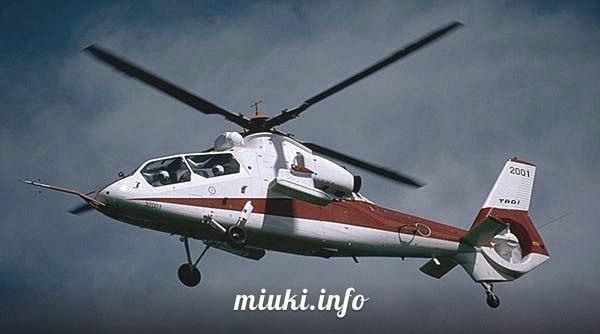 Вертолеты Японии многоцелевой Kawasaki OH-1 Ninja Первый прототип OH-X