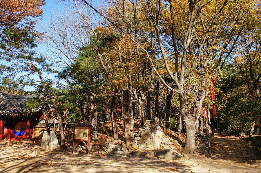 Корейская традиционная деревня