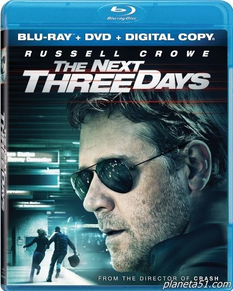 Три дня на побег / The Next Three Days (2010/BDRip/HDRip)