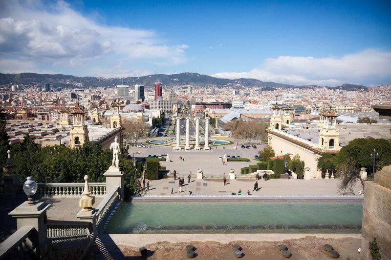 Испания и немного Франции весной 2014