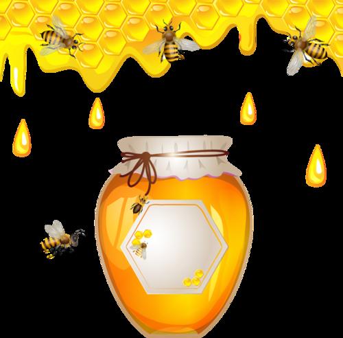Пчёлы.Медовый Спас.Клипарт и фоны.