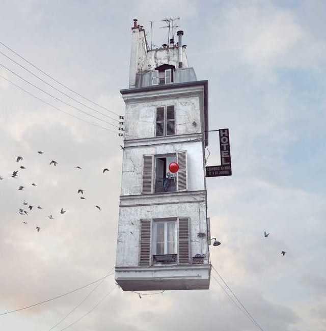 «Летающие дома» Лорен Шехер