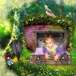 SK Flower Garden Azure-Vechernii_Sad
