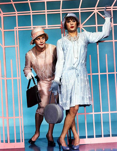 Цветные фото со съемочной площадки «В джазе только девушки» (1959)