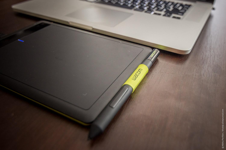 Обзор графического планшета One by Wacom © Никита Перфильев