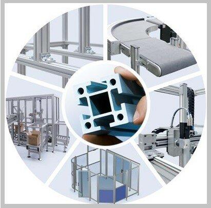 система МС-П Алюминиевый профиль обладает уникальными свойствами, облегчающими выпуск конечной продукции. Профиль не требует грунтовки и покраски, конструкции из алюминиевого профиля легко собираются, разбираются, дополняются и модернизируются.