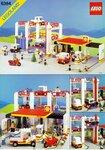 Дома, здания из конструктора Lego, 10 схем