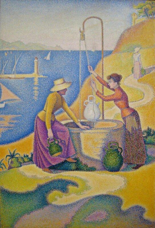 Paul Signac, Femmes au puits, 1892