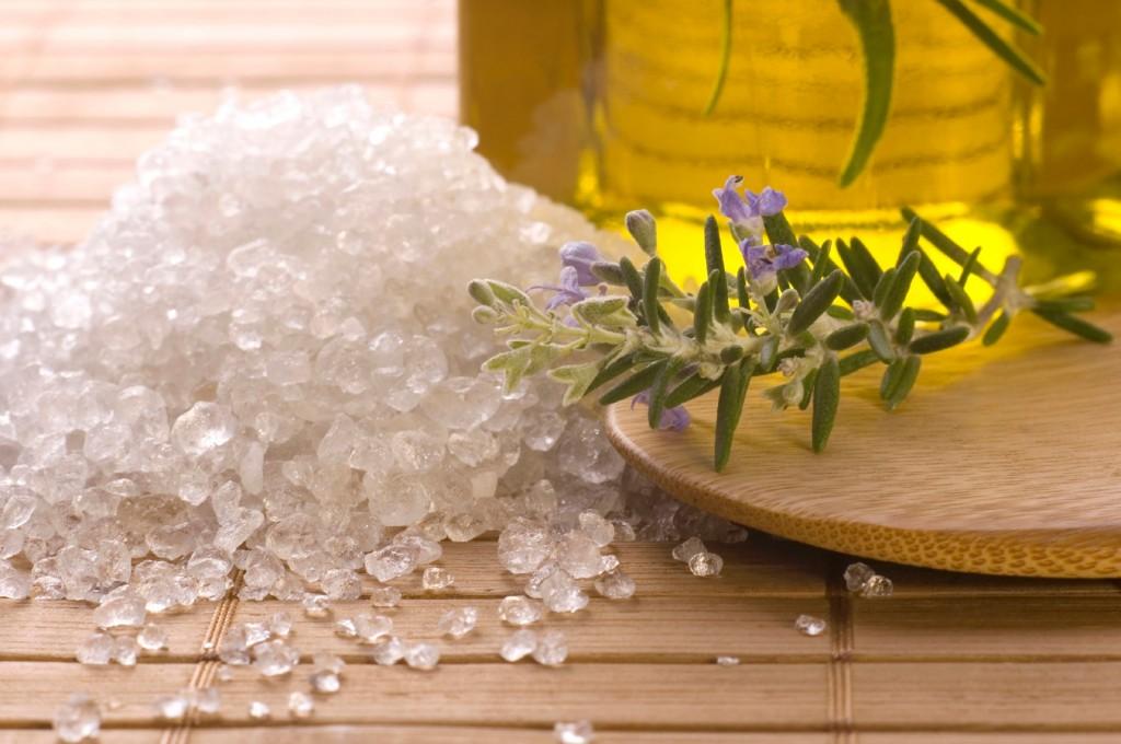 скраб из соли