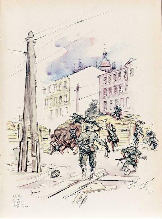 Книга рисунков фашистского пропагандиста Эрнста Айгенера