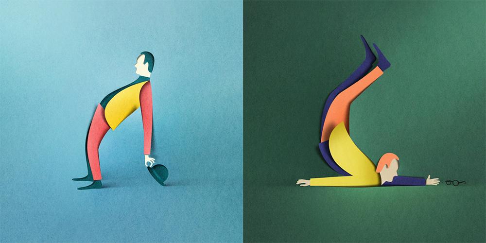 Фантастические трехмерные объекты из бумаги