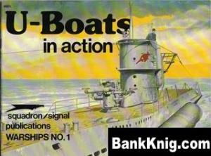 Книга Squadron-Signal Warships In Action 4001 - U-Boats rar 33,6Мб