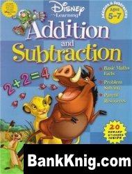 Книга Disney Addition & Subtraction : Grade 1 (Disney Workbooks) pdf