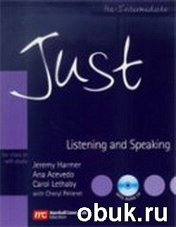 Аудиокнига Harmer Jeremy - Just Speaking and Listening Pre-intermediate (аудиокнига)
