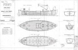 Книга Чертежи кораблей французского флота Bugalet 1928
