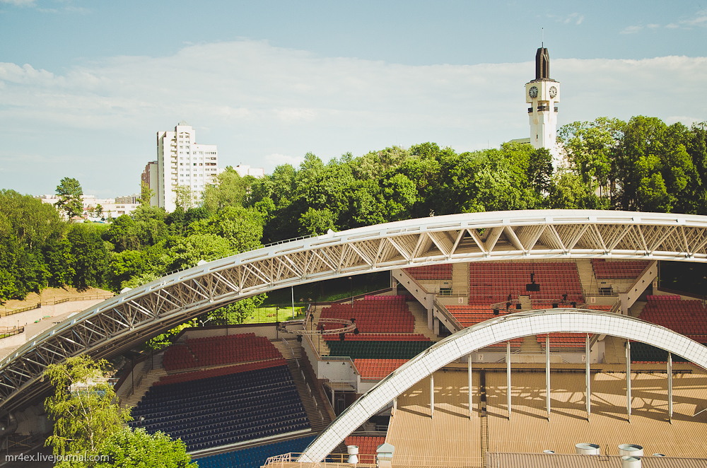 Витебск, Духовской Круглик, летний амфитеатр в Витебске