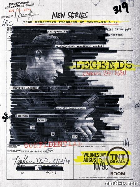 Легенды / Legends - Полный 1 сезон [2014, WEB-DLRip | WEB-DL 720p / 1080p] (LostFilm | NewStudio)