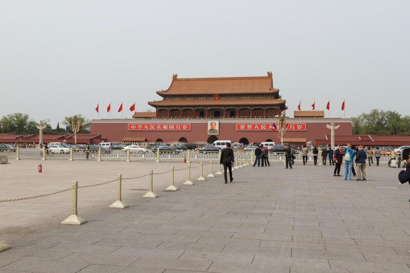 Ворота Тяньаньмэнь, Пекин