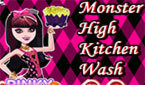 Уборка на Кухне девочек Монстр Хай