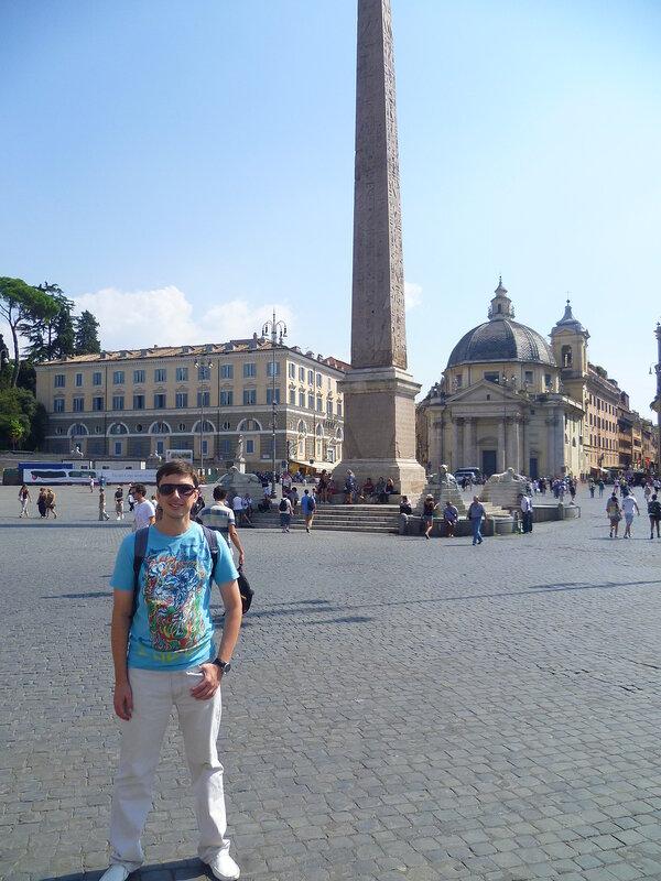 Рим, Piazza di Popolo (Rome, Piazza di Popolo)