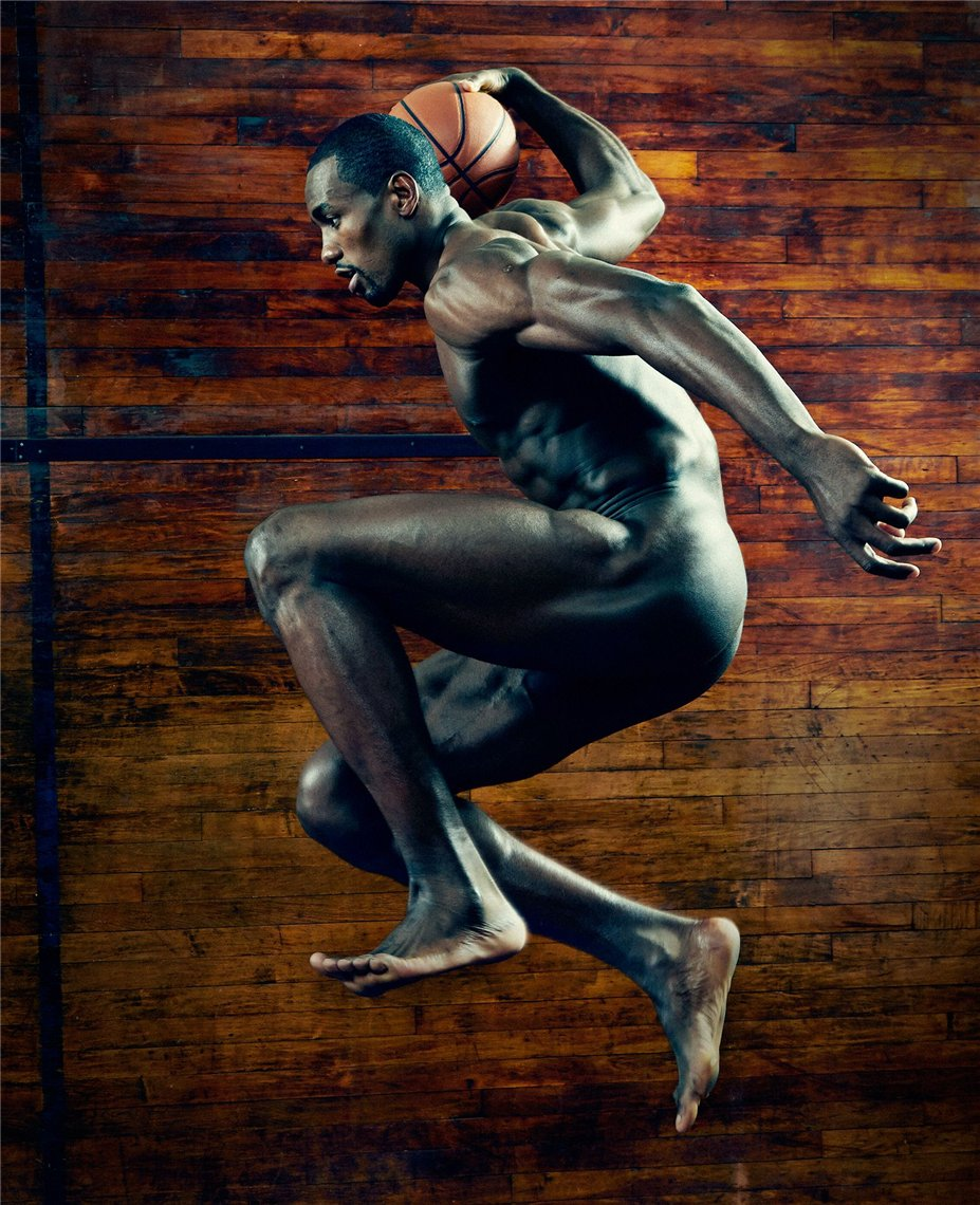 ESPN Magazine Body Issue 2014 - Serge Ibaka / Серж Ибака
