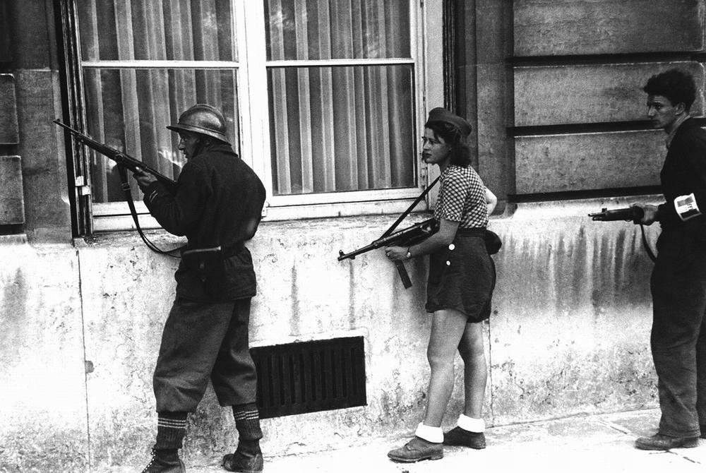 Бойцы Французского сопротивления (1944 год)