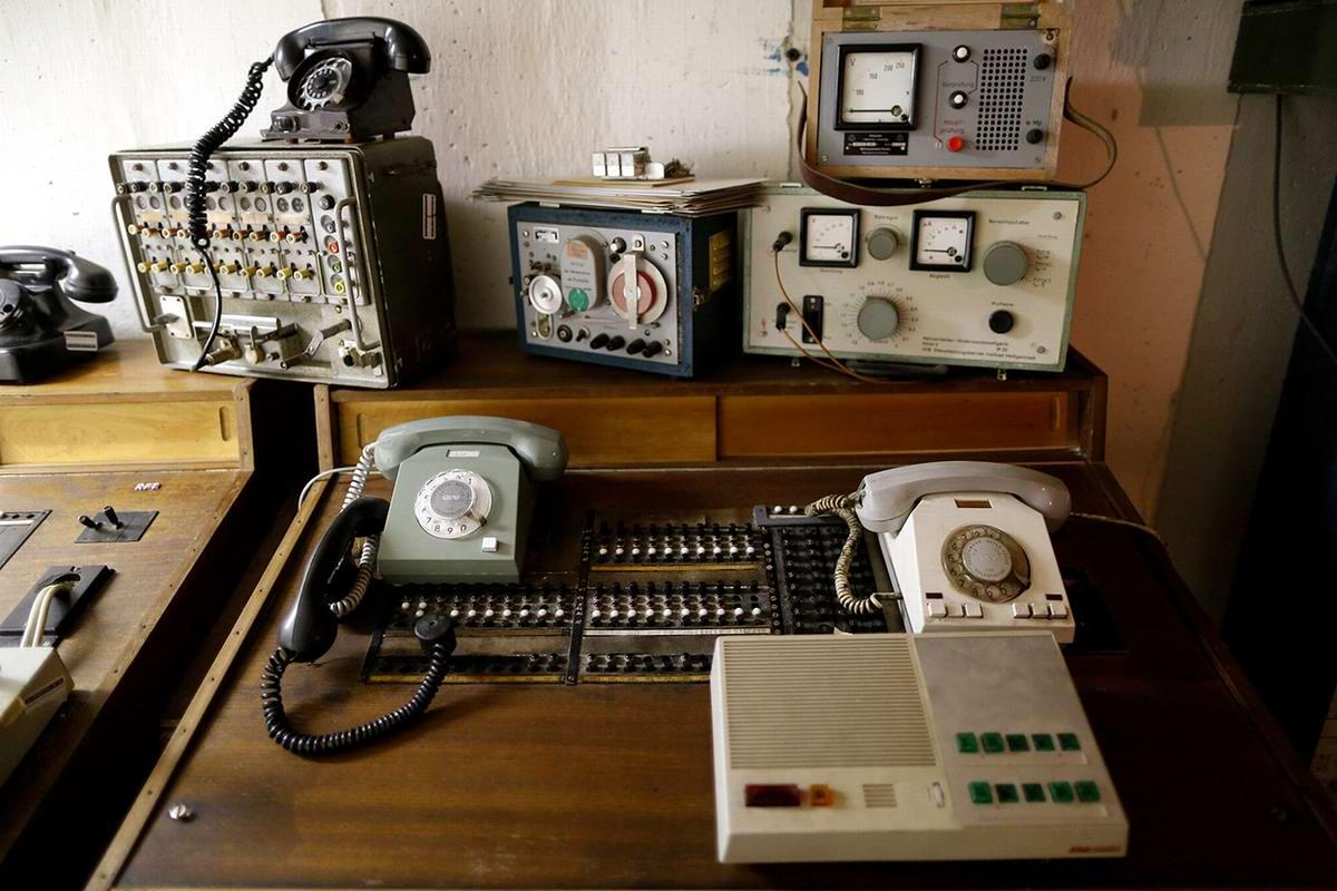 Подземная телефонная станция