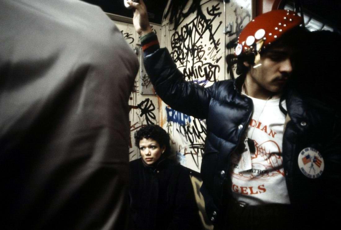 Американский фотограф Christopher Morris: Граффити и андеграунд нью-йоркского метро (11)