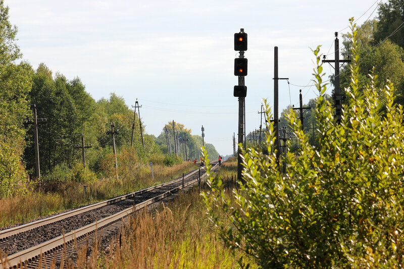 Входной станции Махерово, Рижская горловина