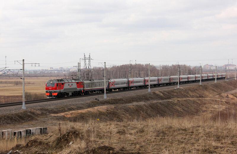 ЭП2К-146 с ПДСом, Колпино-Саблино